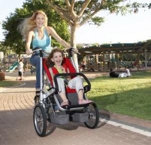 Коляска для велосипеда