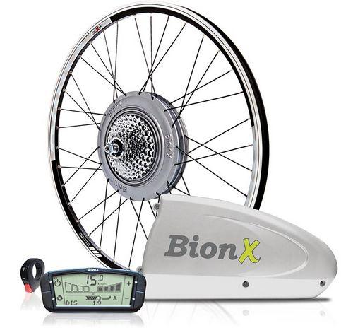 Конверсионный комплект для электрического велосипеда на базе мотор-колеса bionx