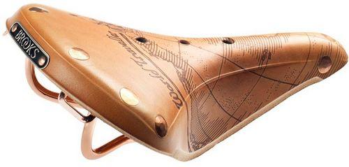 Кожаные сёдла brooks ограниченной серии для туристических велосипедов