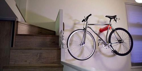 Крепим велосипед на стену: способы и виды крепежей