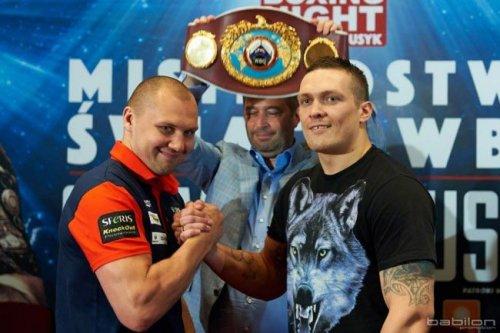 Кшиштоф гловацки: «у усика прекрасная техника, но я буду готов ко всему - «бокс»