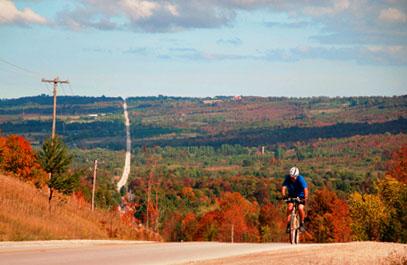 Куда можно поехать отдыхать на велосипеде в октябре