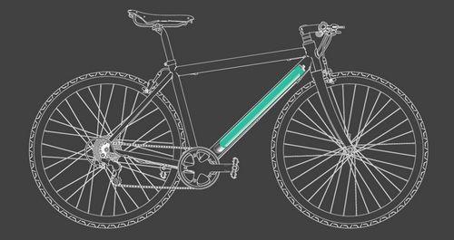 Легкий электрический велосипед от freygeist