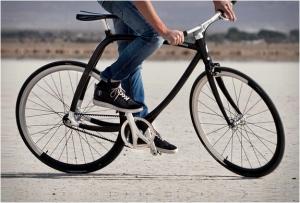 Легкий велосипед для экстремального спорта