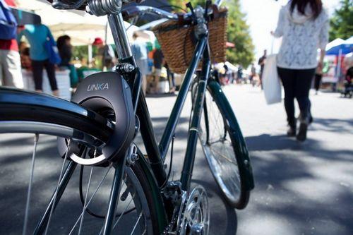 Linka — автоматический велосипедный замок с сигнализацией