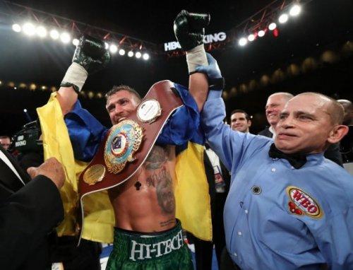 Ломаченко: для меня, как для боксера, салидо – это шаг назад - «бокс»
