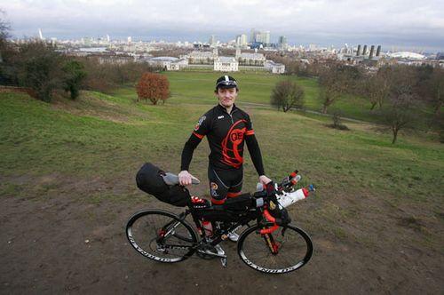 Майк холл — за 3 месяца вокруг света на велосипеде!
