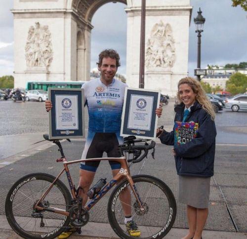 Марк бомонт объехал на велосипеде вокруг света за 79 дней