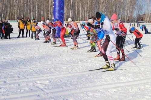 На лыжню россии вышли больше 6 тысяч тюменцев