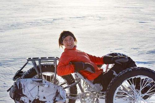 На велосипеде к южному полюсу