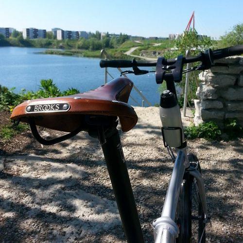На велосипеде по таллину — ч.1