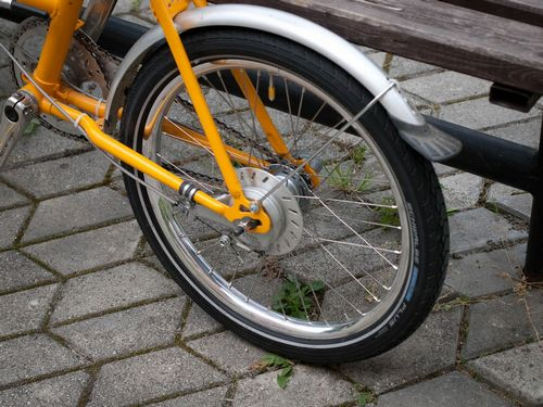 Насколько крепко велосипедное колесо