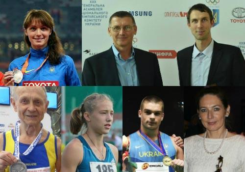 Названы лучшие легкоатлеты и тренеры украины 2015 года - «легкая атлетика»
