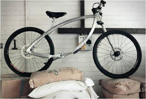 Невероятный прототип складного велосипеда
