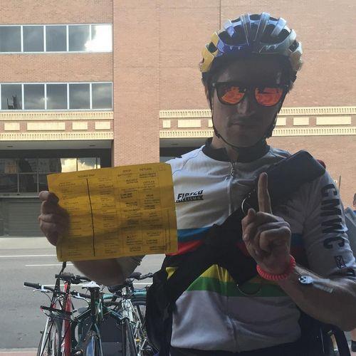Незрячие питерские велосипедисты готовятся к крупному турниру по парациклингу