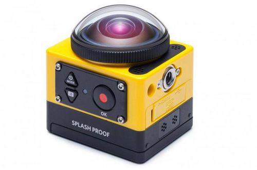 Новая экшн-камера kodak pixpro sp360 способна снимать на 360 градусов