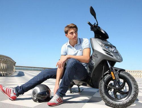 Новое положение, права на скутер