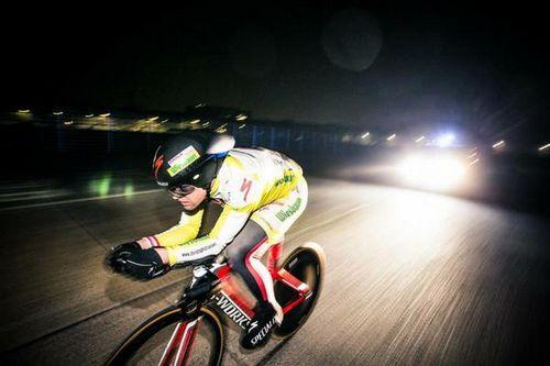 Новый рекорд — 896 км за сутки на велосипеде