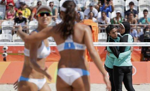 О бикини и хиджабах на олимпиаде - «спорт»