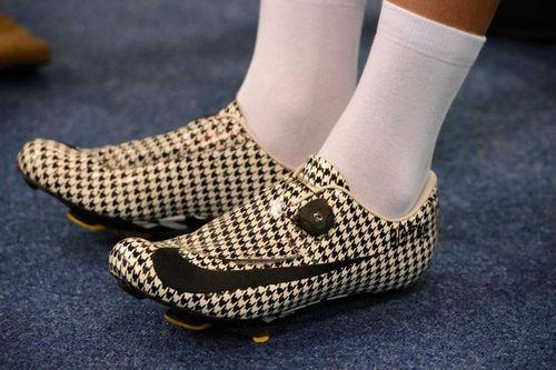 Обувь профессиональных велогонщиков