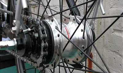 Обзор и тест 7-скоростной планетарной втулки shimano nexus inter-7