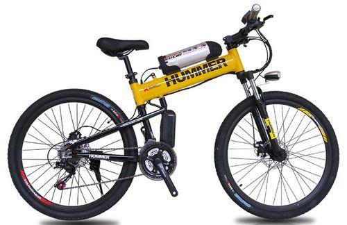 Обзор складного электрического велосипеда hummer
