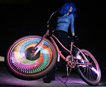 Обзор светодиодной подсветки на велосипед monkey light m133s