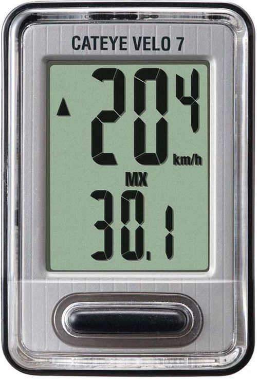 Обзор велосипедного компьютера cateye cc-vl520 velo 7