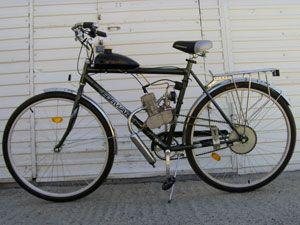 Обзор велосипедов с бензиновым двигателем