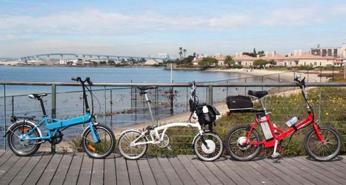 Обзоры складных электрических велосипедов