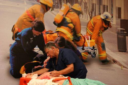 Оказание первой медицинской помощи пострадавшим с опасными для жизни состояниями