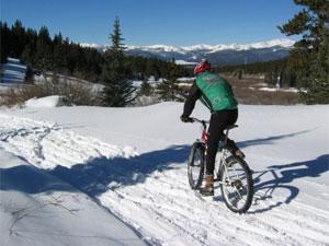 Особенности катания на велосипеде зимой