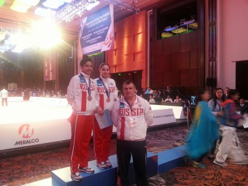 Паратхэквондистка из югры завоевала золото на чемпионате азии