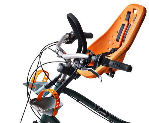 Перевозим ребенка на велосипеде