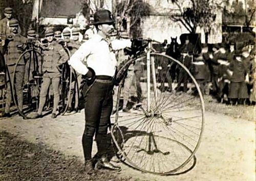 Первое кругосветное путешествие на велосипеде
