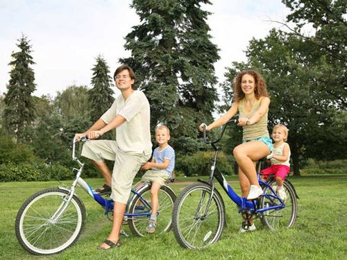 По пути к здоровью на велосипеде