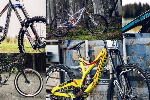 Победить на этапе кубка мира по даунхилу можно и без велосипедной цепи
