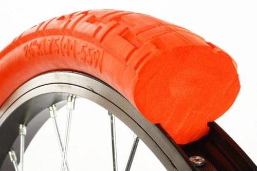 Почему не делают велосипедные шины из сплошной резины?