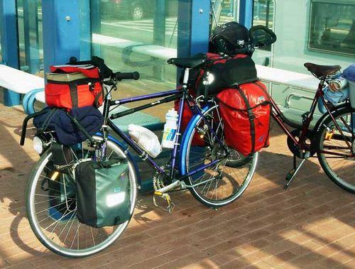 Подготовка велосипеда к длительному велопоходу