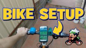 Pokemon go лучший помощник — велосипед