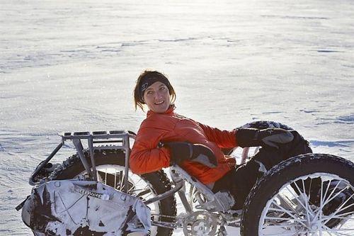 Покорение южного полюса на велосипеде