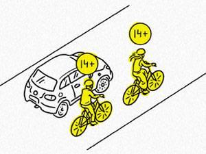 Права и обязанности велосипедиста на дороге в соответствии с пдд