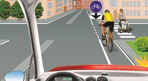 Правила дорожного движения для велосипедистов, часть iii