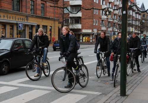 Правила езды на велосипеде в группе
