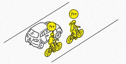 Правила и рекомендации по езде в городе на велосипеде