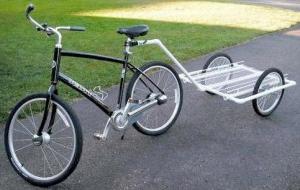 Прицеп к велосипеду своими руками