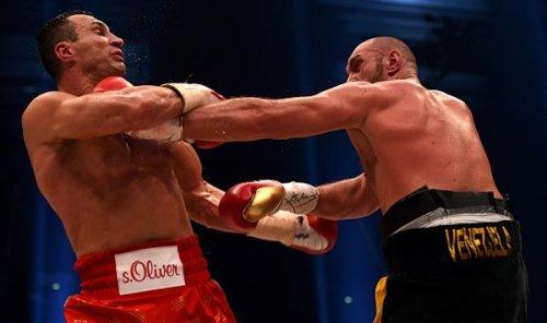 Рябинский: тайсона натаскали на защиту от переднего джеба кличко, которым тот так и не попал - «бокс»