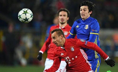 «Ростов» одержал победу над «баварией» в лиге чемпионов - «спорт»
