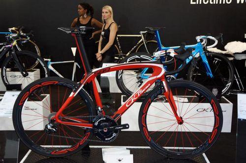 Шоссейные и велокроссовые велосипеды на eurobike 2014
