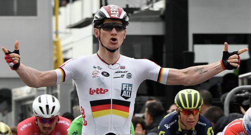 Сэм беннетт выиграл третий этап велогонки париж - ницца 2017